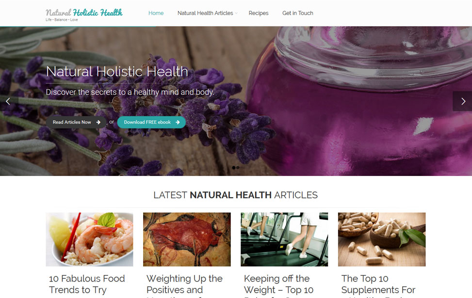 Natural Holistic Health